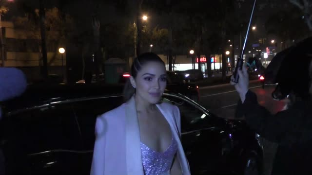 Olivia Culpo outside the Doheny Room in West Hollywood in Celebrity Sightings in Los Angeles