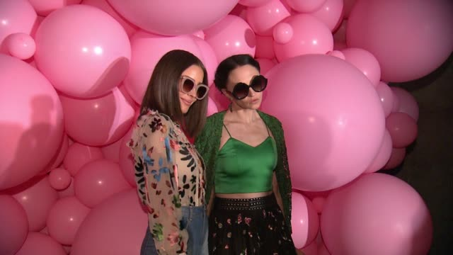 "Olivia Culpo Stacey Bendet at Alice Olivia by Stacey Bendet ""Eyewear is Art"" Launch in Los Angeles CA"