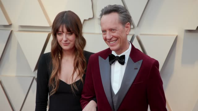olivia grant and richard e. grant at the 91st academy awards - arrivals at dolby theatre on february 24, 2019 in hollywood, california. - richard e. grant stock videos & royalty-free footage