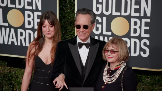 olivia grant, richard e. grant and joan washington at the 76th annual golden globe awards at the beverly hilton hotel on january 06, 2019 in beverly... - richard e. grant stock videos & royalty-free footage