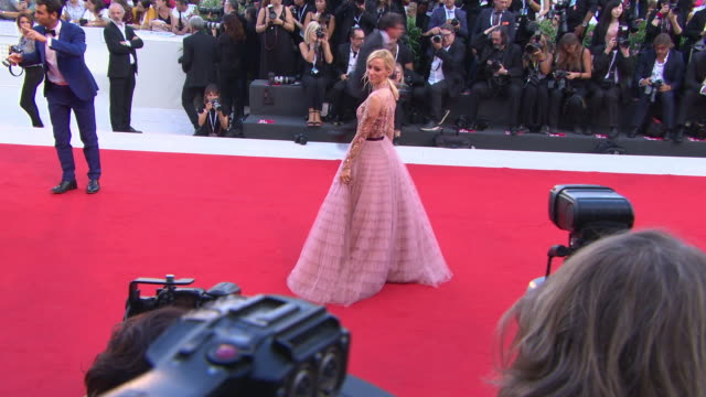 Olivia Hamilton at First Man Red Carpet Arrivals Opening Ceremony And Lifetime Achievement Award To Vanessa Redgrave 75th Venice Film Festival on...