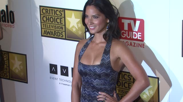 Olivia Munn at 2012 Critics' Choice Television Awards Olivia Munn at 2012 Critics' Choice Television Awa at The Beverly Hilton Hotel on June 18 2012...