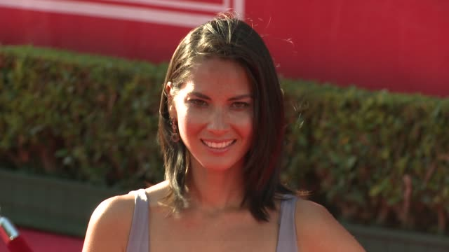 olivia munn at 2012 espy awards on 7/11/2012 in los angeles ca - olivia munn stock videos and b-roll footage