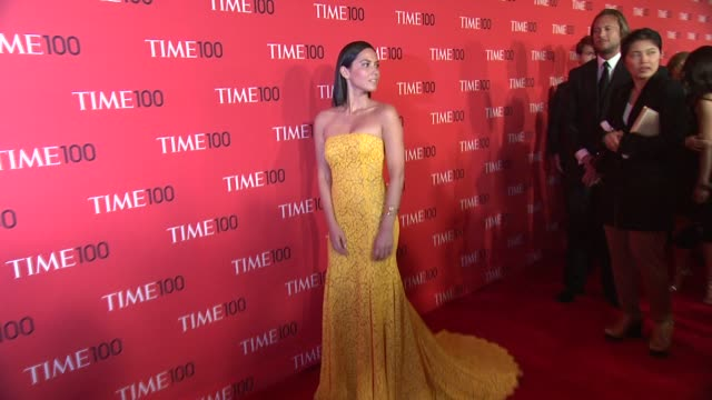 Olivia Munn at 2013 Time 100 Gala Arrivals at Frederick P Rose Hall Jazz at Lincoln Center on April 23 2013 in New York New York