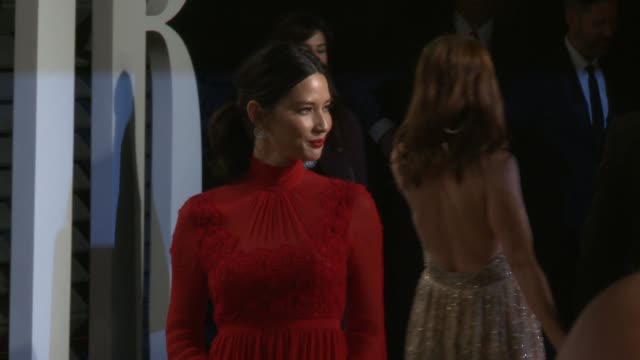 olivia munn at 2017 vanity fair oscar party hosted by graydon carter on february 26, 2017 in beverly hills, california. - oscar party stock videos & royalty-free footage