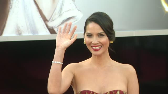 Olivia Munn at 85th Annual Academy Awards Arrivals 2/24/2013 in Hollywood CA
