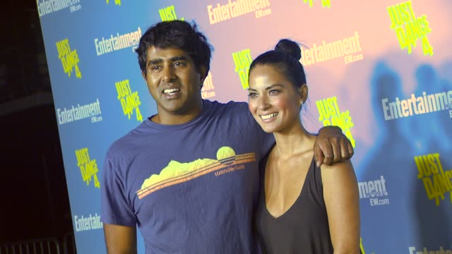 olivia munn at entertainment weekly's 6th annual comiccon celebration sponsored by just dance 4 on 7/14/12 in san diego ca - olivia munn stock videos and b-roll footage