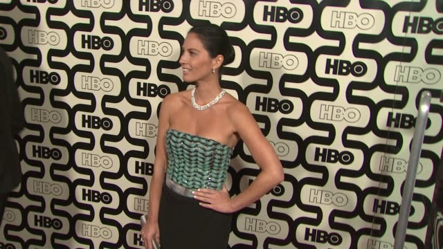 olivia munn at hbo's 70th annual golden globes after party in los angeles ca on 1/13/13 - olivia munn stock videos and b-roll footage