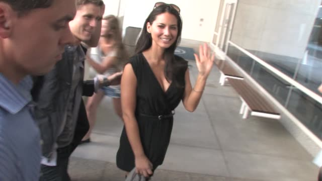 Olivia Munn at Hilton Hotel at the Celebrity Sightings in San Diego at Los Angeles CA