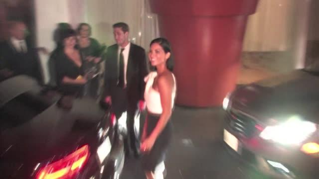 olivia munn at mondrian hotel in west hollywood - モンドリアンホテル点の映像素材/bロール