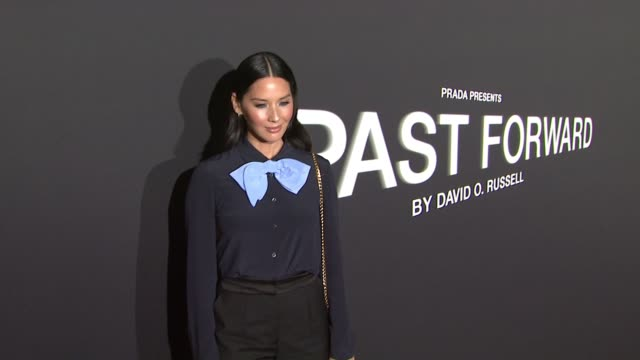 Olivia Munn at Prada Presents 'Past Forward' by David O Russell Los Angeles Premiere in Los Angeles CA