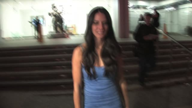 olivia munn at soho house in west hollywood at the celebrity sightings in los angeles part 2 at los angeles ca - olivia munn stock videos and b-roll footage