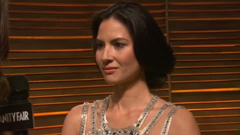 olivia munn at the 2014 vanity fair oscar party hosted by graydon carter - arrivals on march 02, 2014 in west hollywood, california. - oscar party stock videos & royalty-free footage