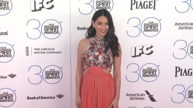 Olivia Munn at the 30th Annual Film Independent Spirit Awards Arrivals at Santa Monica Beach on February 21 2015 in Santa Monica California