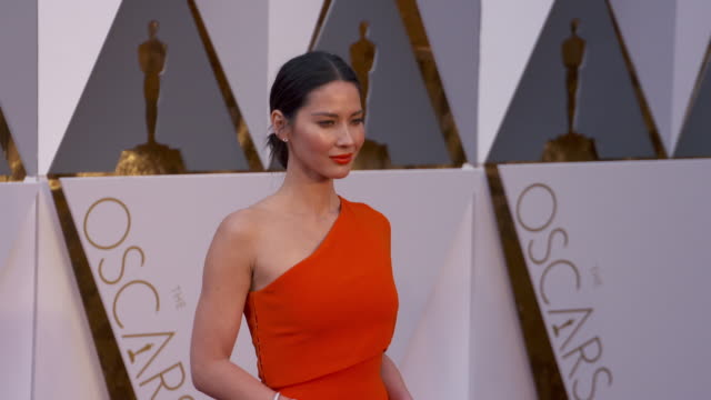 Olivia Munn at the 88th Annual Academy Awards Arrivals at Hollywood Highland Center on February 28 2016 in Hollywood California 4K
