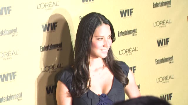 Olivia Munn at the Entertainment Weekly And Women In Film PreEmmy Party at West Hollywood CA