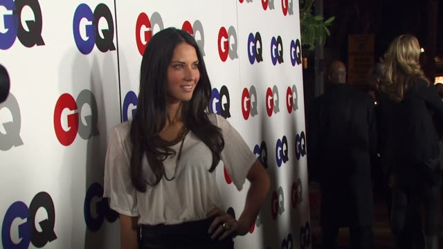 Olivia Munn at the GQ Magazine's 2009 'Men Of The Year' Party at Los Angeles CA