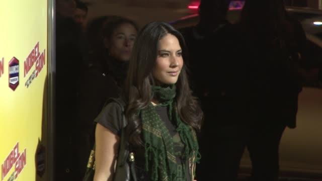 olivia munn at the 'nobel son' premiere at los angeles ca - olivia munn stock videos and b-roll footage