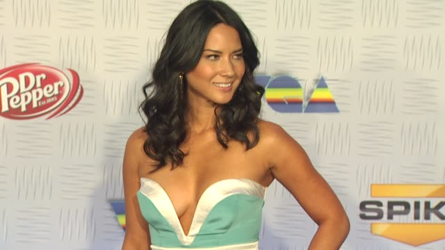 Olivia Munn at the Spike TV's '2010 Video Game Awards' at Los Angeles CA