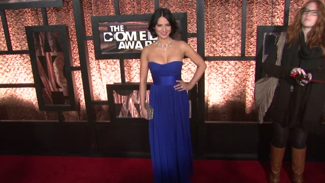 Olivia Munn at the The First Annual Comedy Awards Arrivals at New York NY