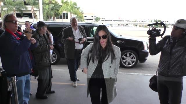 Olivia Munn departing at LAX Airport in Los Angeles in Celebrity Sightings in Los Angeles
