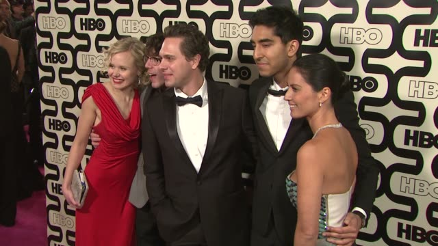 Olivia Munn Dev Patel Alison Pill and Thomas Sadoski at HBO's 70th Annual Golden Globes After Party in Los Angeles CA on 1/13/13