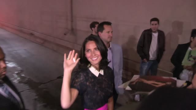 olivia munn greets fans in hollywood 07/17/12 - olivia munn stock videos and b-roll footage