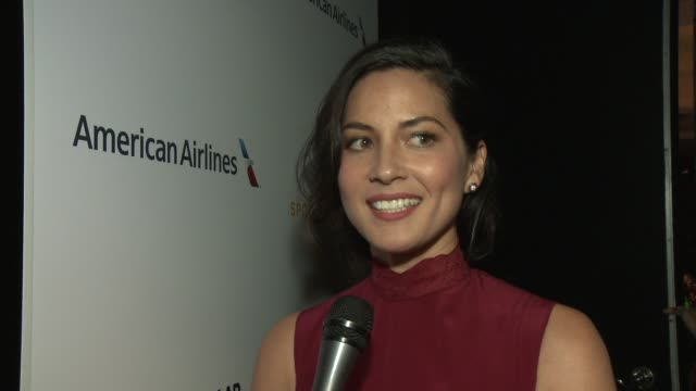 interview olivia munn on being at the event presenting to her friend dana white why it's so important to support issues like research for diabetes... - tv interview stock videos and b-roll footage