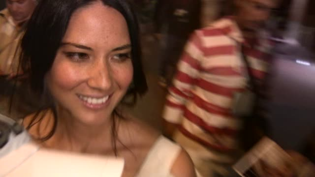 olivia munn outside the hard rock cafe in san diego at the celebrity sightings in los angeles at los angeles ca - olivia munn stock videos and b-roll footage