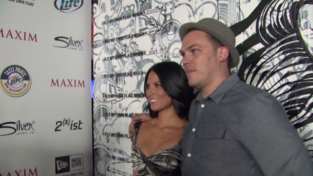Olivia Munn Tristen Eaton at the 2011 Maxim Hot 100 Party With New Era Miller Lite 2ist And Silver Jeans Co at Hollywood CA
