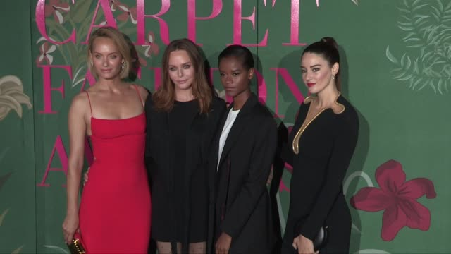 olivia palermo, johannes huebl, sophia loren , valentino garavani, amber valletta, stella mccartney, letitia wright, shailene woodley and more at the... - valentino designer label stock videos & royalty-free footage