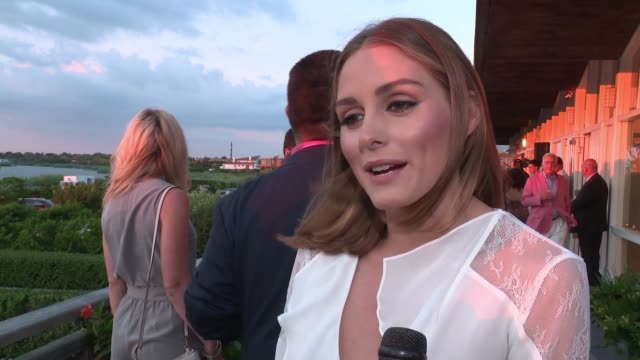 INTERVIEW – Olivia Palermo on being a supporter of Tracy Anderson on her style on feeling comfortable in our birthday suit at Women's Health and...