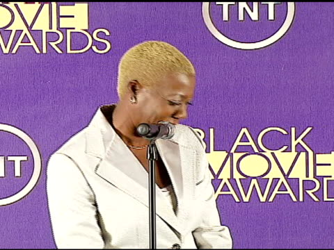 olivia smashum at the 2006 tnt black movie awards press room at wiltern theater in los angeles california on october 15 2006 - wiltern theatre stock videos and b-roll footage