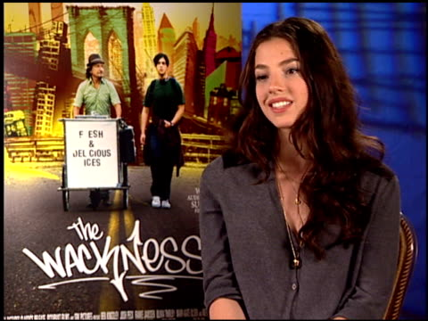 Olivia Thirlby on working with Josh Peck and Sir Ben Kingsley at the 'The Wackness' Press Junket at Los Angeles California