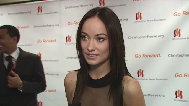 Olivia Wilde/ Actress She wears Donna Karan and discusses how great Donna Karan is She talks about living in New York because of her new television...