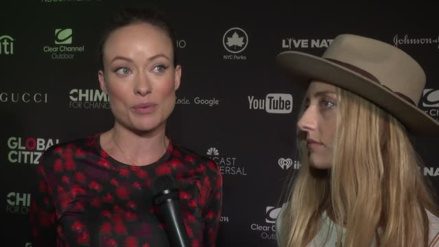 INTERVIEW Olivia Wilde and Barbara Burchfield on combining the power of music and healing on Conscious Commerce making the merchandise being...