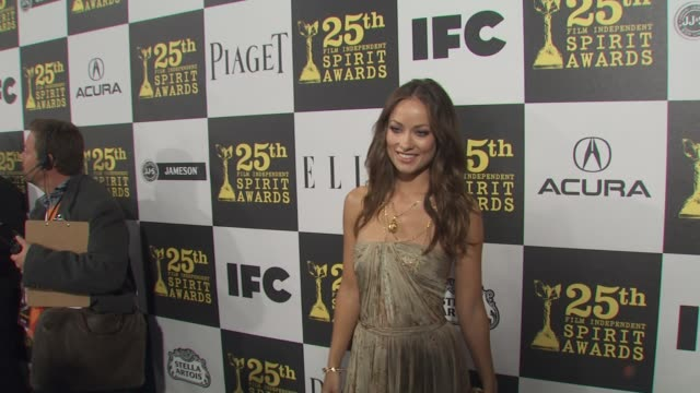 Olivia Wilde at the 25th Independent Spirit Awards Hosted By Jameson Irish Whiskey at Los Angeles CA