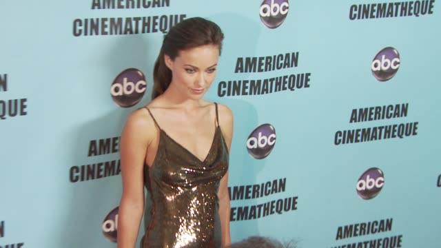 Olivia Wilde at the American Cinematheque's 2010 Award Show Honoring Matt Damon at Beverly Hills CA