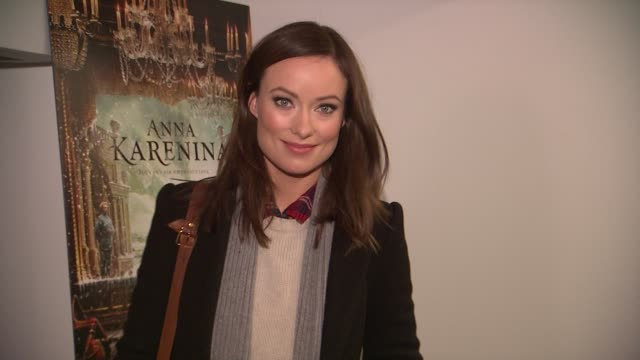 Olivia Wilde at the 'Anna Karenina' Special Screening in New York NY on 11/7/12