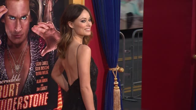 Olivia Wilde at The Incredible Burt Wonderstone Los Angeles Premiere 3/11/2013 in Hollywood CA