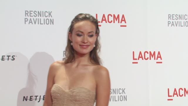 Olivia Wilde at the LACMA Presents 'The Unmasking' at Los Angeles CA