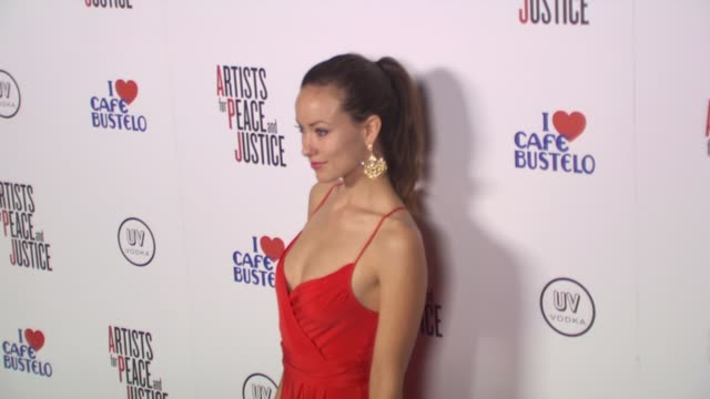 Olivia Wilde at the Olivia Wilde Hosts 'Artists For Haiti' Benefit at Santa Monica CA