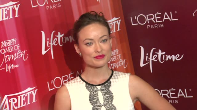 Olivia Wilde at the Variety's 3rd Annual 'Power of Women' Luncheon at Beverly Hills CA