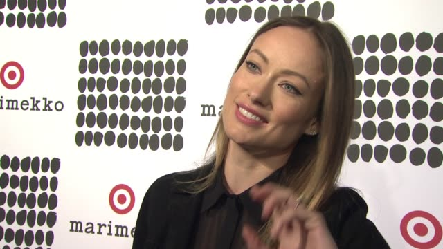 INTERVIEW Olivia Wilde explains what we are celebrating tonight at The Highline explains what she loves about the collection and how accessible...