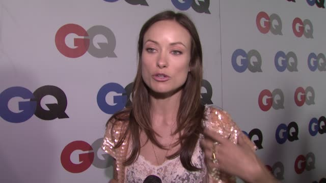 olivia wilde on the election, on what she would say to president elect barack obama if he were in attendance, and on her proudest moment of 2008. at... - 2008 stock videos & royalty-free footage