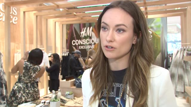 INTERVIEW Olivia Wilde on what the Conscious Collection x HM launch means not having to compromise with fast fashion and using business for good...