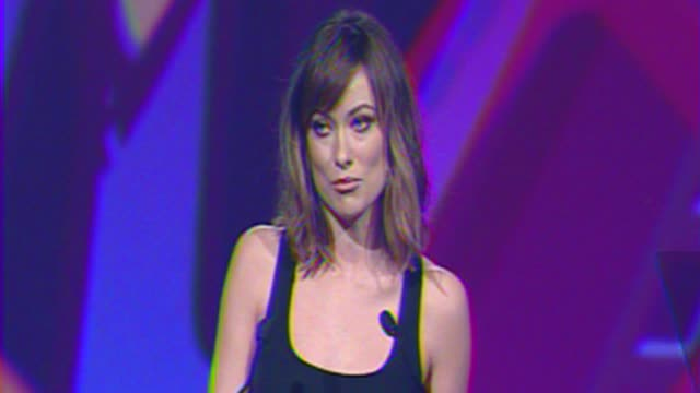 Olivia Wilde presents the ensemble of Young Adult at The 23rd Annual Palm Springs International Film Festival Awards Gala on in Palm Springs CA