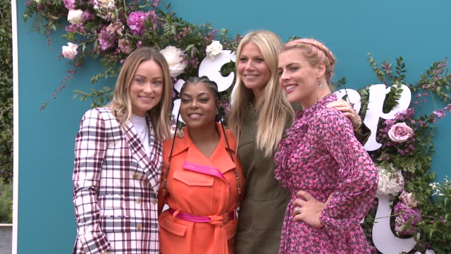 Olivia Wilde Taraji P Henson Gwyneth Paltrow and Busy Philipps at the In goop Health Summit on May 18 2019 in Los Angeles California
