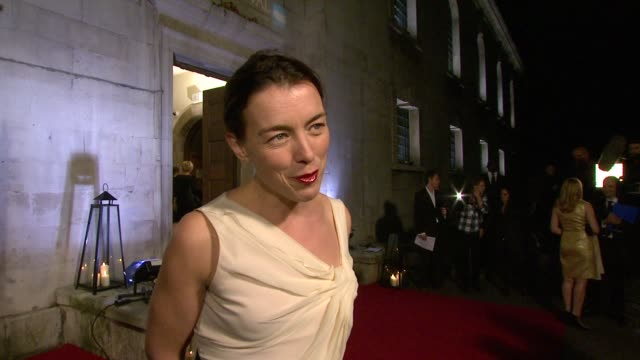 Olivia Williams on being on the jury heated debates feeling strange analysing other artists' work new projects at the 54th BFI London Film Festival...