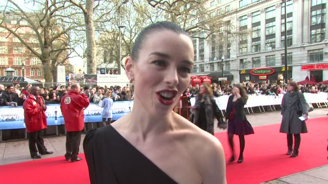 olivia williams on how giggly daniel craig was and how she thought she would end up playing a bond girl as opposed to james bond's mother at the... - bond girl fictional character stock videos & royalty-free footage